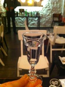 Gin shot
