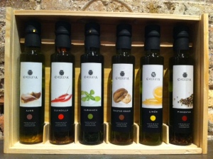 Variety of olive oils