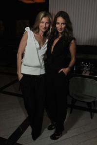 With Elizabeth von Guttman