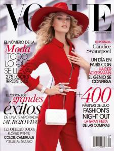 VOGUE Mexico September Issuer 2013