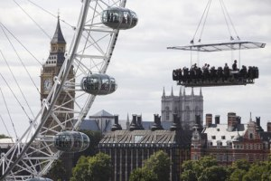 Dinner in the Sky at London