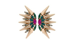 Crystal Fan Cluster earrings from Anton Heunig